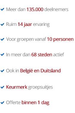 Voordelen bedrijfsuitje Alkmaar